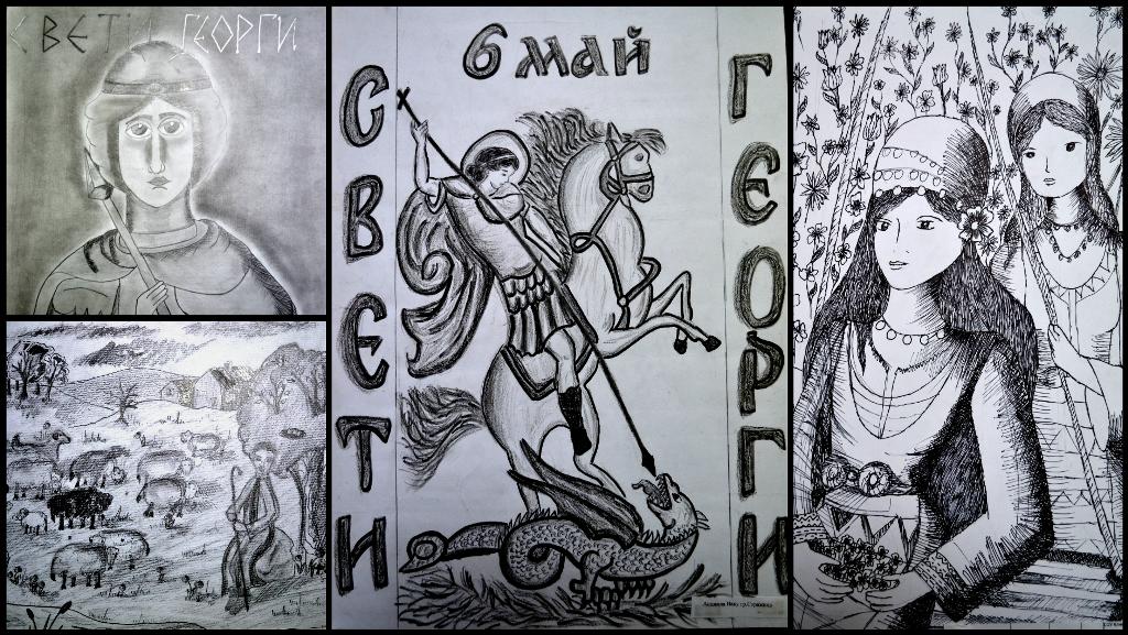 Рисунки от конкурси 2014-2015