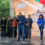 С емблематични фолклорни изпълнения започна Петия Национален събор на овцевъдите в България
